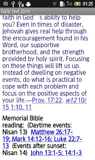 【免費書籍App】Daily Bible Text 2014-APP點子