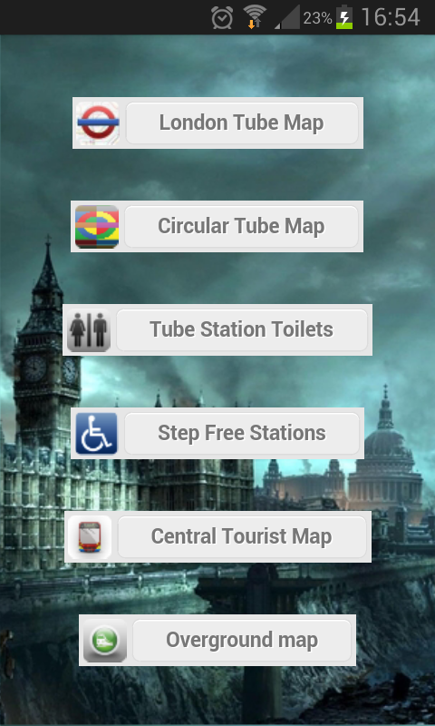 London Transport Maps - screenshot