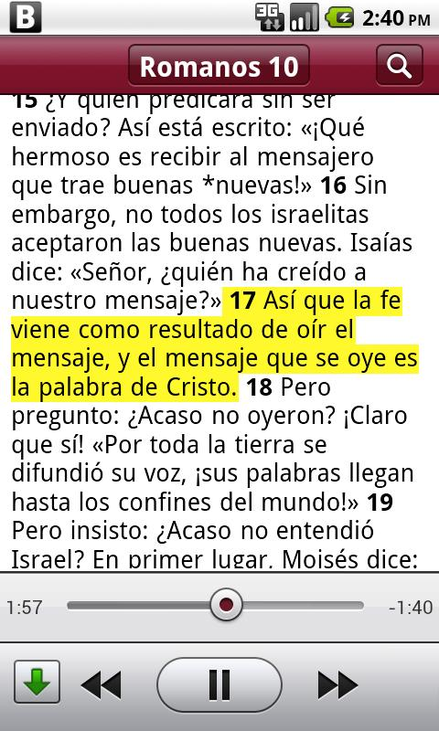 Biblia+ - screenshot