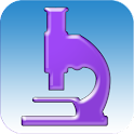 simulation de microscope icon