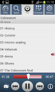 Audio guides AudioViator screenshot 6