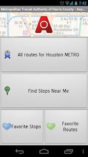 Houston METRO: AnyStop - screenshot thumbnail