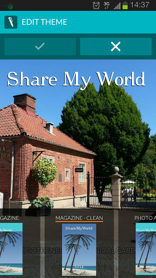 MyWo - Share My World - screenshot