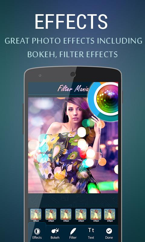 Photo Filter - Bokeh Effects- screenshot