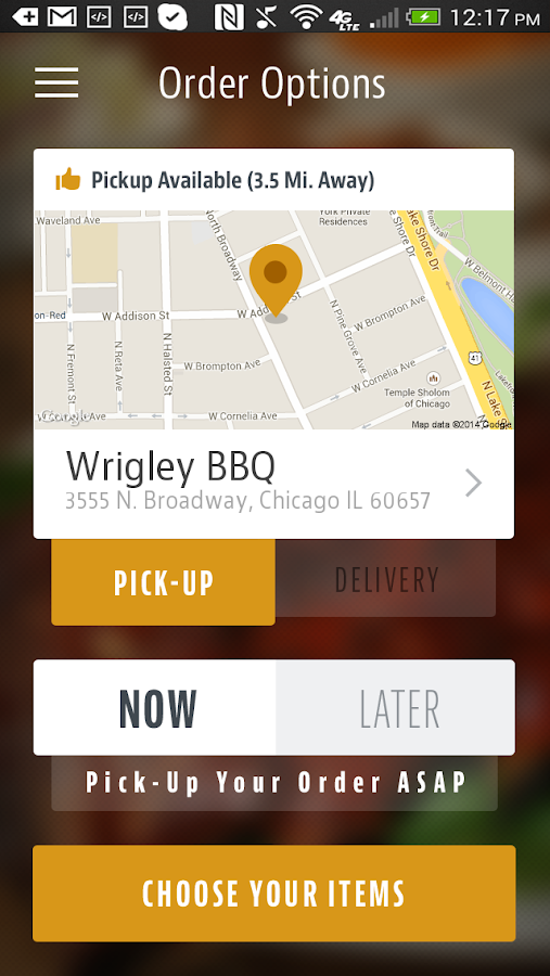 Wrigley BBQ- screenshot