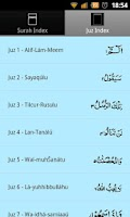 Screenshot of 13 Line Quran
