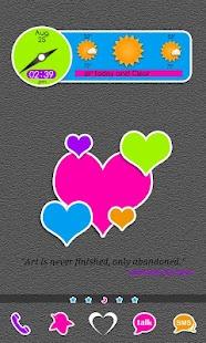Go Launcher: Rainbow Stickers 個人化 App-癮科技App