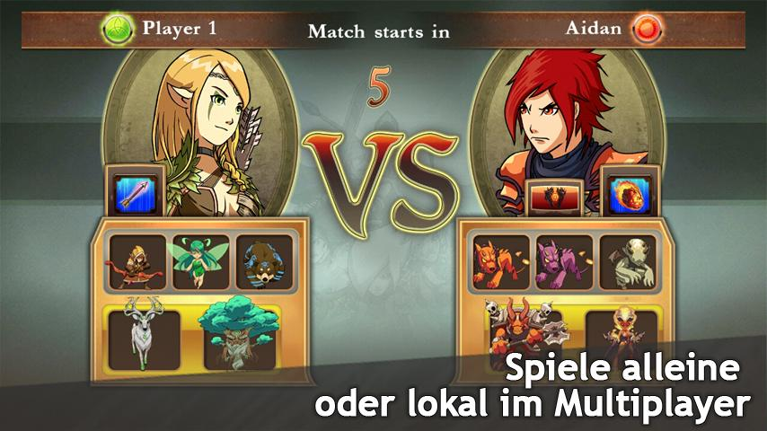 android M&M Clash of Heroes Screenshot 9