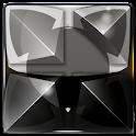 Next Launcher Theme silver sn icon