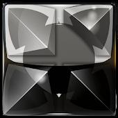 Next Launcher Theme silver sn