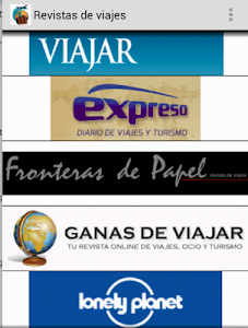 Revistas de Viajes screenshot 2