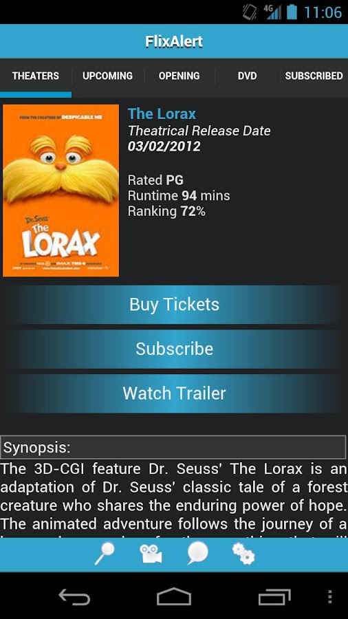 FlixAlert Movie Notifications - screenshot