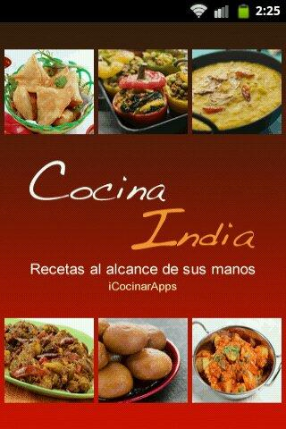 iCocinar Cocina India - screenshot