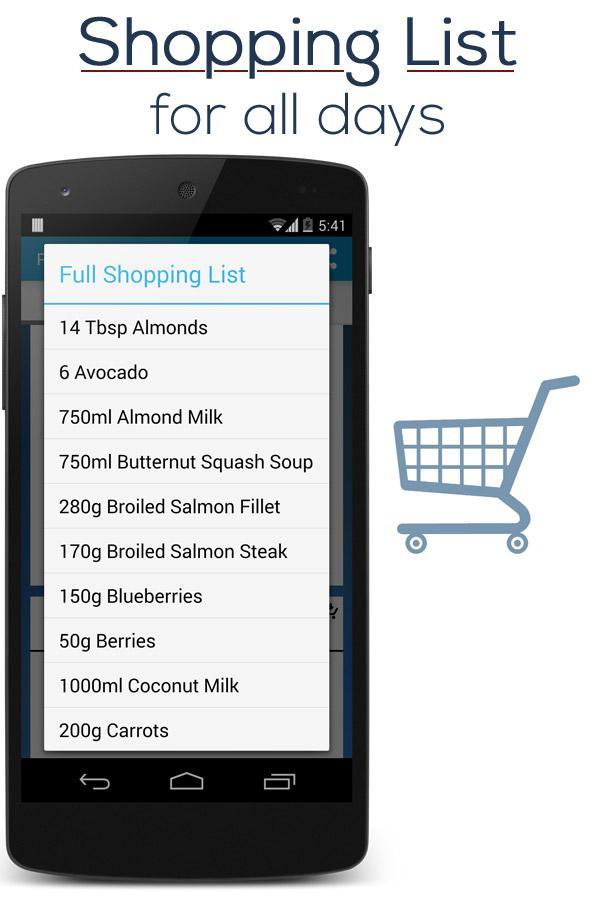 Paleo Diet Plan - screenshot