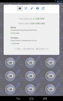 Screenshot of Darkcoin Balance