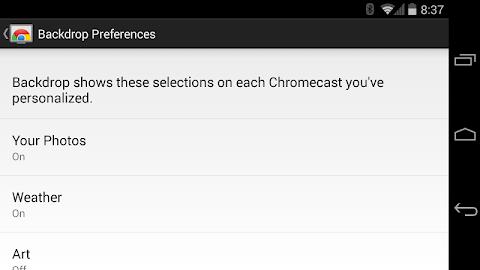 Chromecast Screenshot 16