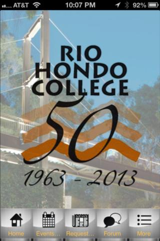 Rio Hondo Community College - screenshot