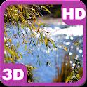 Lake View Willow Landscape HD icon