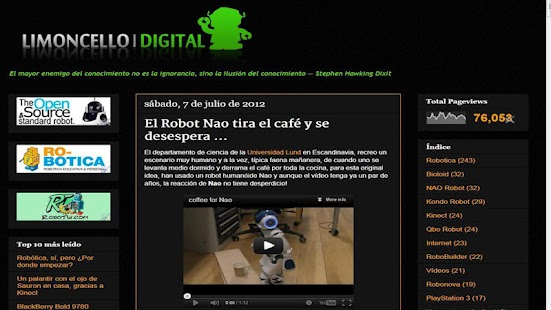 LimoncelloDigital- screenshot thumbnail