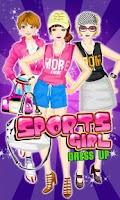 Screenshot of Dress Up! Sport Girl