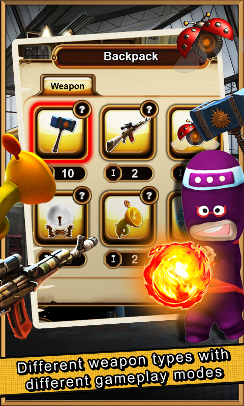 MR. ABOO Town Shooting- screenshot