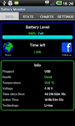 Battery Monitor Widget Pro 1.4.1 APK 3