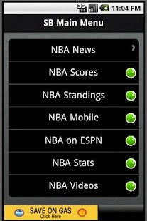 SportsBlazer NBA - screenshot thumbnail