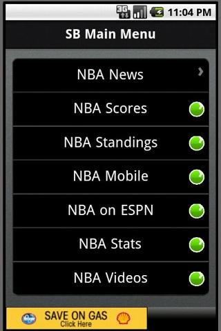 SportsBlazer NBA - screenshot