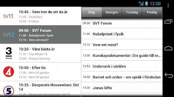 Screenshot of Tv från Telia, Spela in