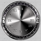 Metal Live Wallpaper Clock