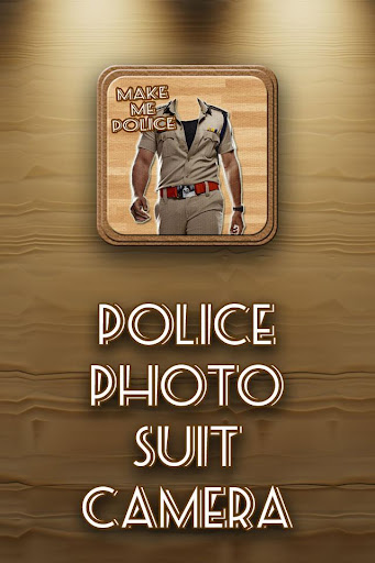 My Photo on Police Suit