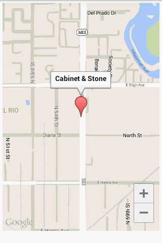 Cabinet & Stone Intl- screenshot