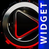 Poweramp Widget Black Dragon