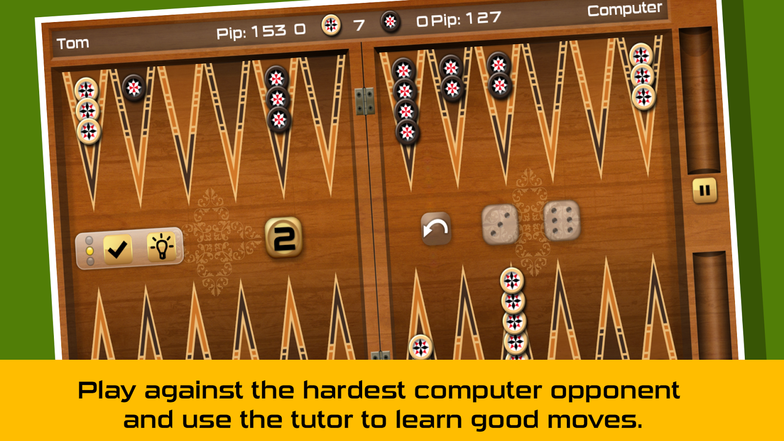 Backgammon Gold - screenshot