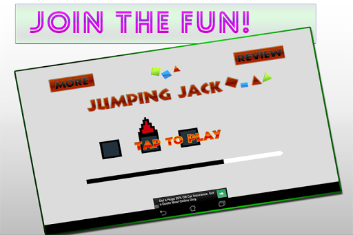 Jumping Jack : Cube Dash