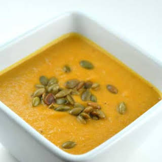 Gluten-free Dairy, Free Mexican Pumpkin Soup.