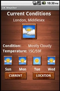 UK Weather Free - screenshot thumbnail