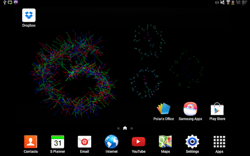 Crazy Particles Live Wallpaper- screenshot thumbnail
