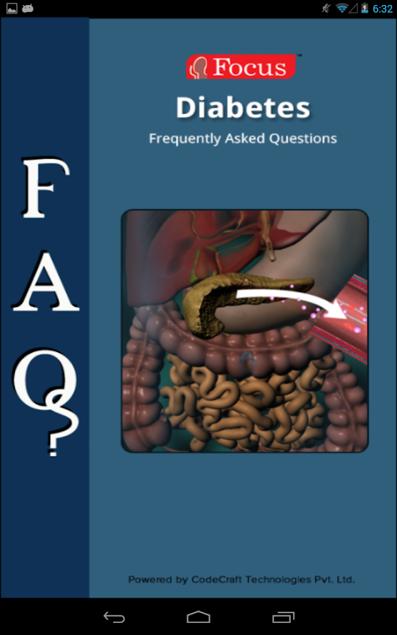 FAQs in Diabetes- screenshot