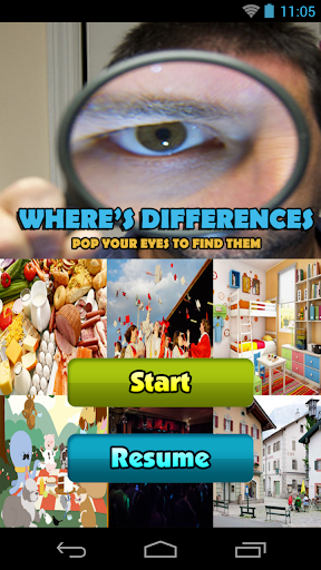 Where's Differences Puzzle