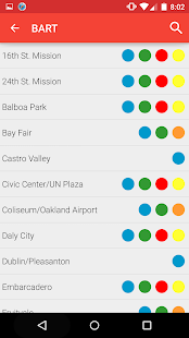 Metro San Francisco -Muni Bart- screenshot thumbnail