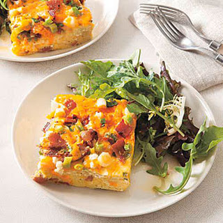 Bacon and Cheese Frittata