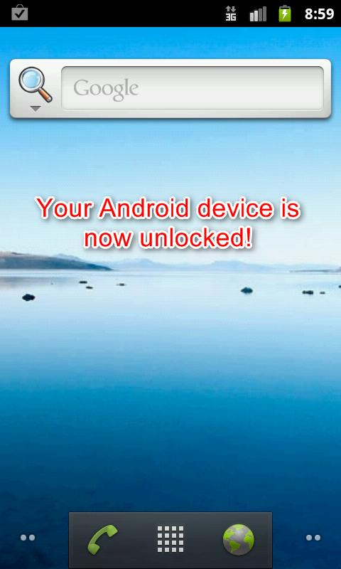 Screen Lock Bypass Pro - screenshot
