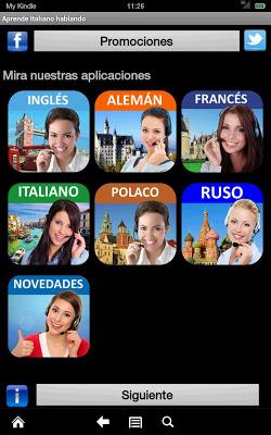 Aprende Italiano  hablando - screenshot