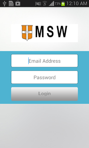 MSW Safety App