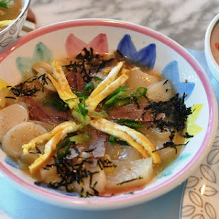 Korean New Year's Soup Tteokguk