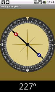Steady compass - screenshot thumbnail