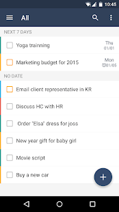 GTasks: Todo List & Task List - screenshot thumbnail