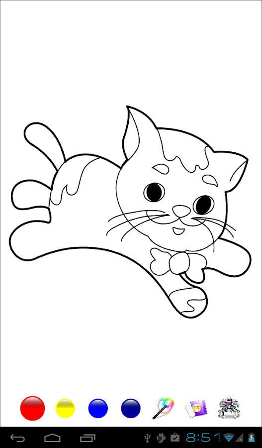 kids paint - coloring pages