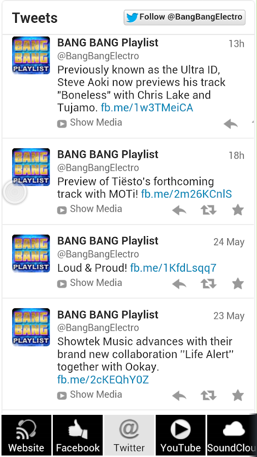 Bang bang playlist house music android apps on google play for House music playlist